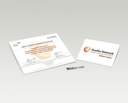 Home design partner certificaat