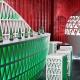 Heineken pop-up city lounge Corian
