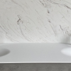 CORA Thermo Oval Front - Solid Surface wastafel Corian - HI-MACS - dubbel 2
