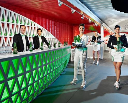 Heineken Bar Corian Cora Techniek