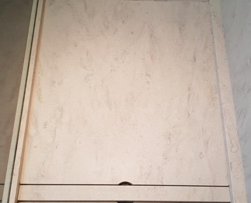 CORA Obliquo Shower - drain maatwerk - Corian Clam Shell