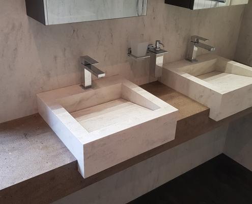 CORA Bathroom - Cora Traverso - Clam Shell - Sonora