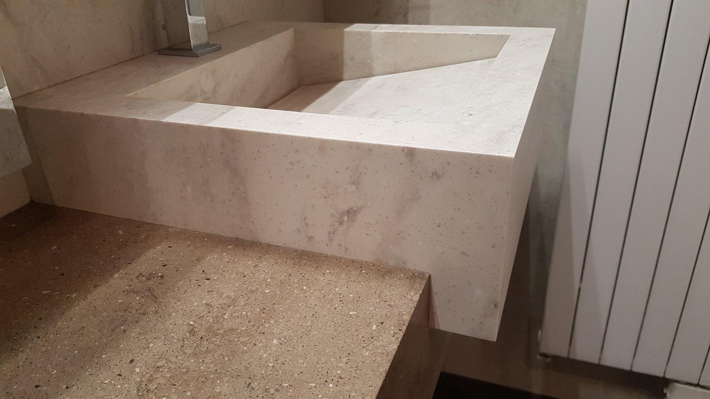 CORA Bathroomproducts - Corian Clam Shell CORA Traverso - verkleind