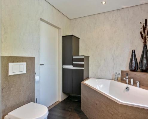 Cora Bathroomproducts - Corian badkamer - badombouw + wc ombouw