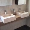 Corian wastafel - CORA Bathroomproducts - verkleind