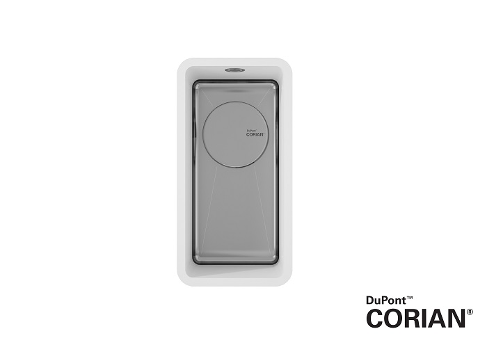 CORA Spoelbakken - DuPont_Corian_SPARKLING_9501