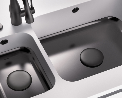 CORA SPOELBAKKEN MIXA_778_double_sink_R60_Design_Cover_black_01