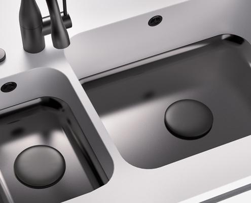 CORA SPOELBAKKEN MIXA_778_double_sink_R60_Design_Cover_black_01