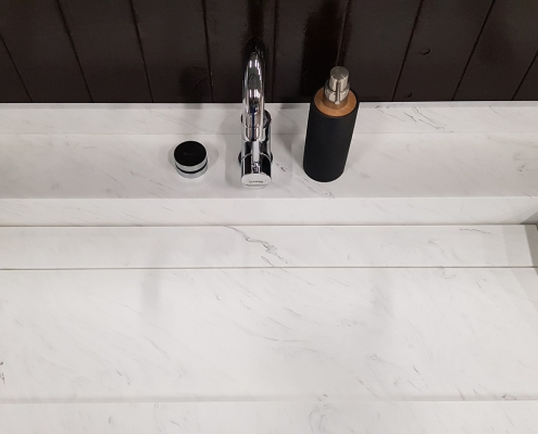 CORA BATHROOM - CORA CARRARA WASTAFEL - OBLIQUO WASTAFEL