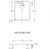 CORA WORKTOP - CORIAN SPARKLING 9503