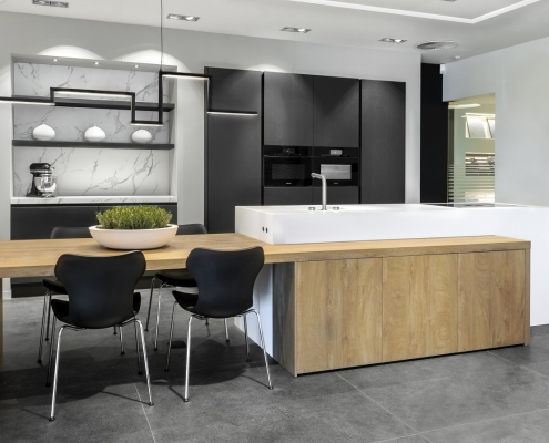 CORA Worktop - Corian monoblock - Showroomkeuken 1 - Au Four Design for Life