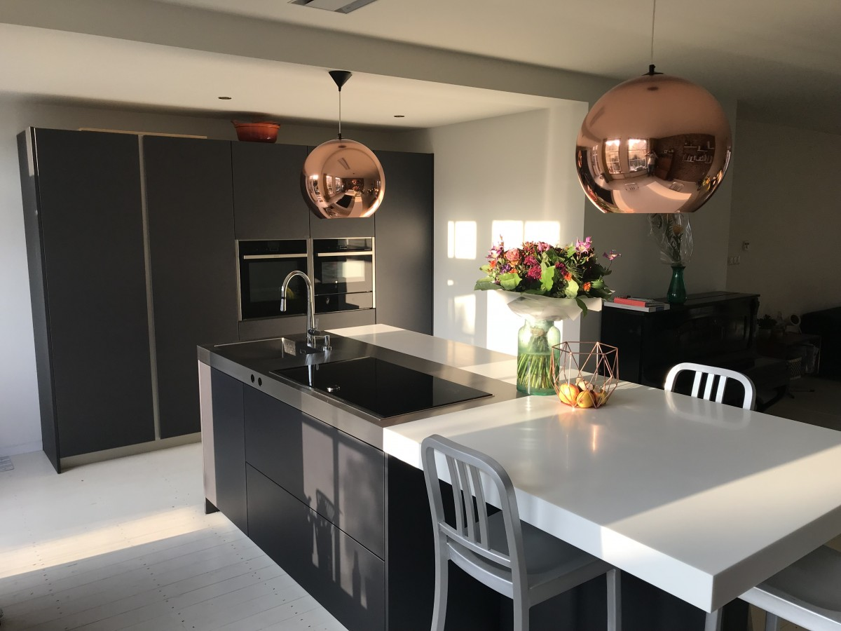 Snaidero keuken - Corian met RVS werkblad - IMG_1736