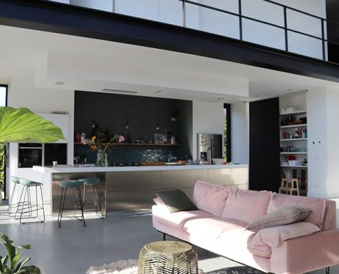 Snaidero keuken - Corian met RVS werkblad - project750-2