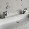 Creato Rectangle XL - CORA Carrara Cremo achterwand