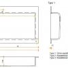 Solid Surface wastafelblad op maat - CORA Creato Rectangle groot