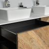 CORA - Solid Surface Opzetkom - Brave Small meubel Robuust met open lade