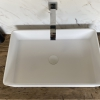 CORA - Solid Surface Opzetkom - Defiant Rectangle Top