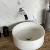 CORA - Solid Surface Opzetkom - Defiant Round top