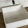 CORA - Solid Surface Opzetkom - Defiant Square Top