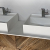 CORA - Solid Surface Opzetkom - Royal Medium - Meubel Robuust Dubbel
