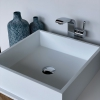 CORA - Solid Surface Opzetkom - Swift Square Meubel Robuust enkel