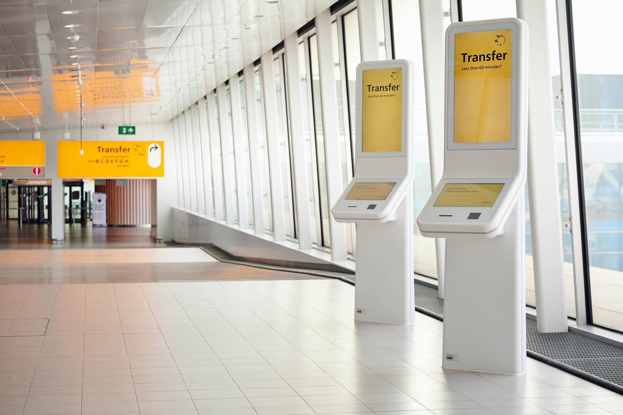CORA Projects - Short Connection Unit - Schiphol - Prestop