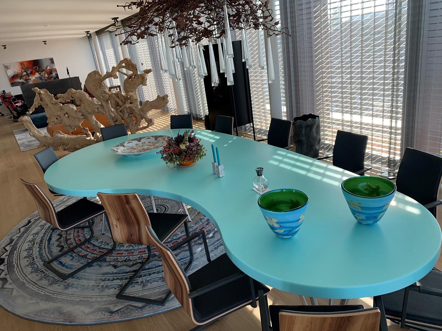 CORA Projects - Solid Surface tafelblad - HI-MACS S305 Emerald - 5 - verkleind