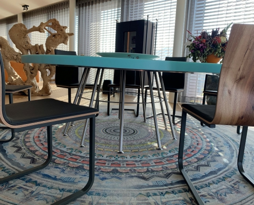 CORA Projects - Solid Surface tafelblad - HI-MACS S305 Emerald - 6 - verkleind