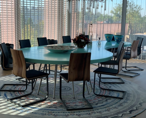 CORA Projects - Solid Surface tafelblad - HI-MACS S305 Emerald - verkleind