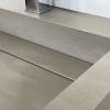 Wasbak Obliquo - Corian Wheatered Concrete - Detail 1